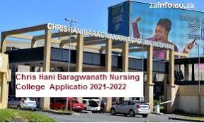 Chris Hani Baragwanath Nursing College Admission/APPS Form ...